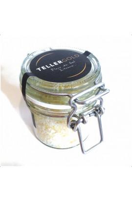 Fleur de Sel mit Zitrone 70 Gramm im Bügelglas