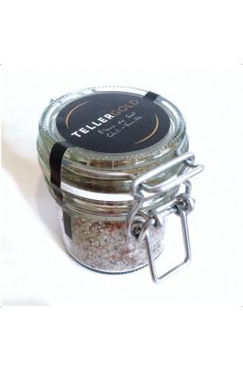 Fleur de Sel mit Chili und Bourbon-Vanille im Bügelglas