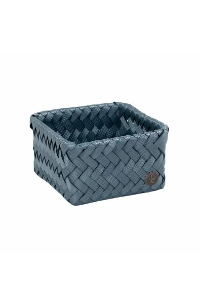 Fit Tiny Basket steel blue-Kleiner offener Korb stahlblau
