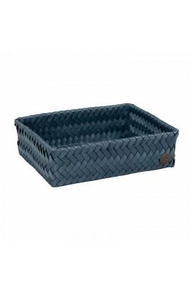 Fit Medium Basket steel blue-Mittelgroßer offener Korb stahlblau