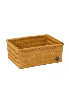 Fit Medium High Basket ochre yellow-Mittelhoher offener Korb ockergelb