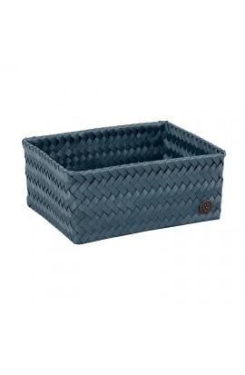 Fit Medium High Basket steel blue-Mittelhoher offener Korb stahlblau