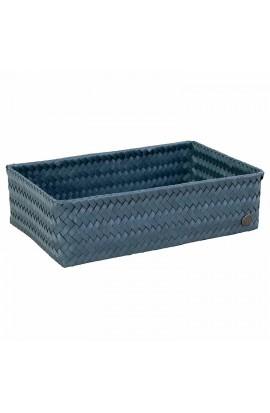 Fit Big Basket steel blue-Großer offener Korb stahlblau