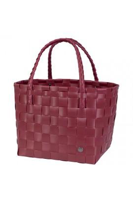 Paris Shopper burgundy-Einkaufstasche Paris burgunderrot