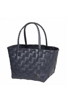 Paris Shopper dark grey-Einkaufstasche Paris dunkelgrau