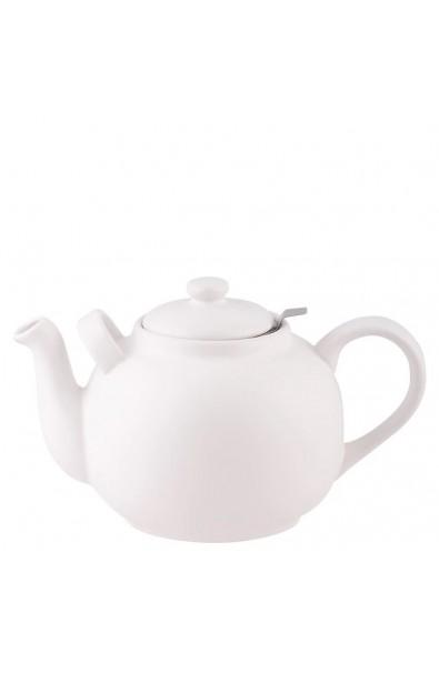Teekanne groß 2,5 ltr. - Weiss