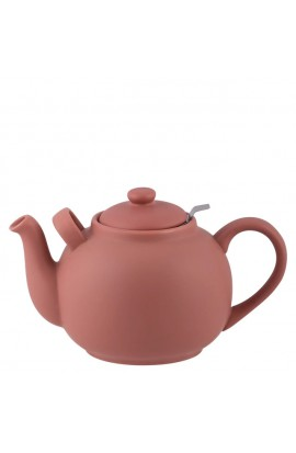 Teekanne groß 2,5 ltr. - Terracotta-Rose