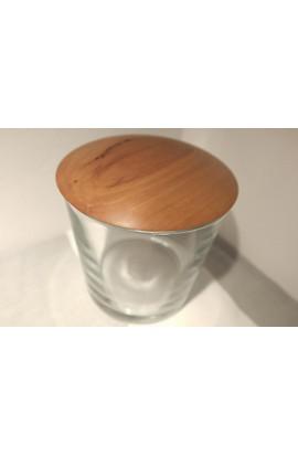 "Deckelglas ""L"", klar / Apfelbaum"