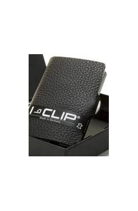 I-Clip Rindsleder black