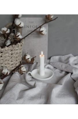 Kerzenhalter Ljunggarden, weiß