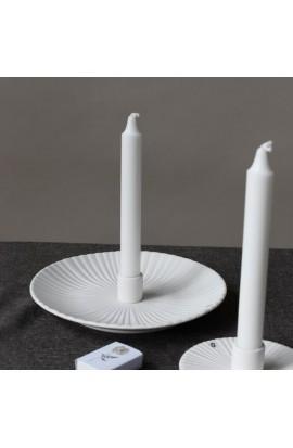 Kerzenhalter Holmy, groß, weiß
