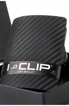 I-Clip GUNBLACK metallic in Carbon Optik
