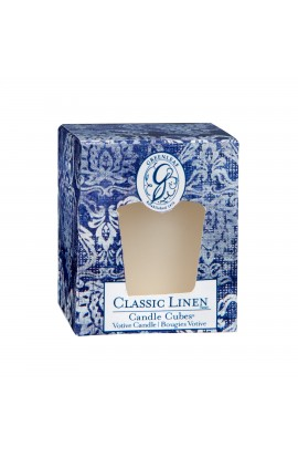 Greenleaf Candle Cube CLASSIC LINEN