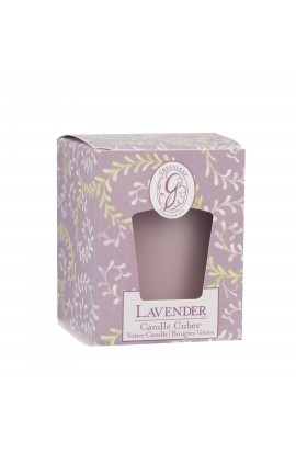 Greenleaf Candle Cube LAVENDER