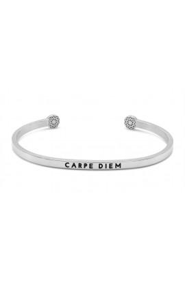 Simple Pledge CARPE DIEM - Silber