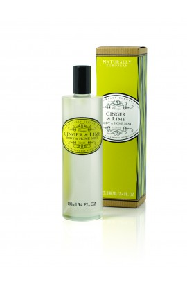 Natuarally European Ginger & Lime Body Mist