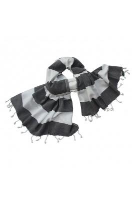 Hamamtuch Black / White